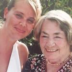 Steffi und Mama
